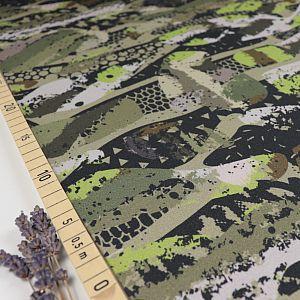 Bio Wintersweat Camouflage in khaki