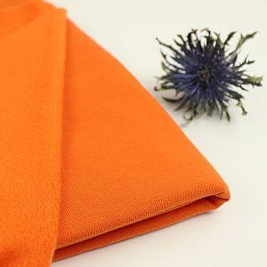 Bio French Terry Brushed uni orange