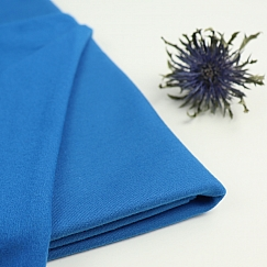 Bio French Terry Brushed uni blau