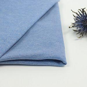 Bio Wintersweat Martinique blau meliert Stoffonkel