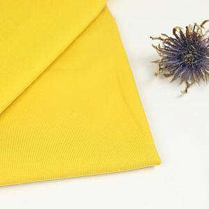 Bio Wintersweat uni Senf gelb von Stoffonkel