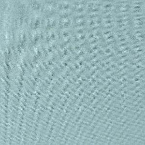 Bio Bündchen Stoff uni frost blau
