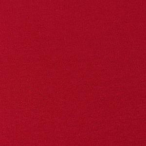 Bio Bündchen Stoff uni fuchsia rot