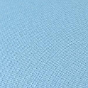 Bio Bündchen Stoff uni himmelblau