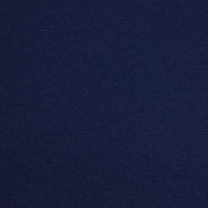 Bio Bündchen Stoff uni marineblau Stoffonkel