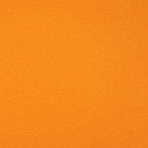 Bio Bündchen Stoff uni orange Stoffonkel