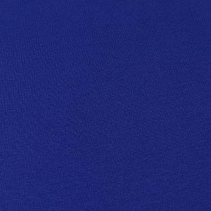 Bio Bündchen Stoff uni royal blau