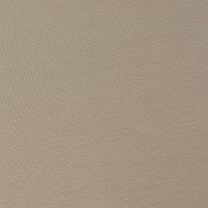 Bio Bündchen Stoff uni sand grau