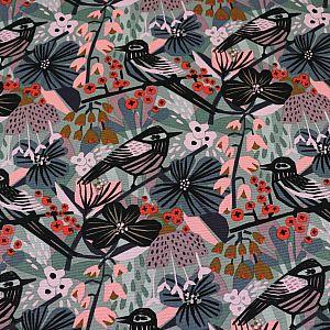 Bio Canvas Motiv Birds & Blossoms von Cloud9