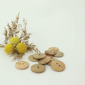 Bio Holzknopf Olivenholz 23mm