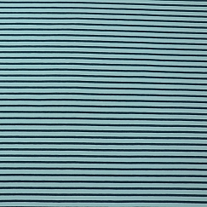 Bio Jersey Stoff Streifen hellblau dunkelblau Ringeljersey Stoffonkel