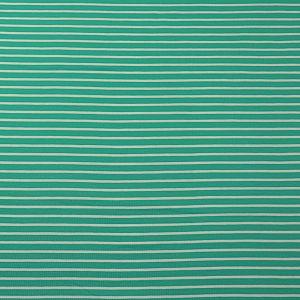 Bio Jersey Stoff Streifen smaragd grün Ringeljersey Stoffonkel