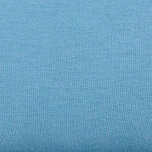 Bio Jersey Stoff uni denim blau