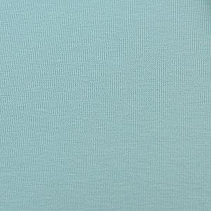 Bio Jersey Stoff uni eisblau