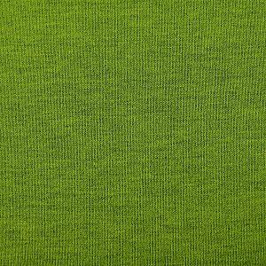 Bio Jersey Stoff uni grün meliert