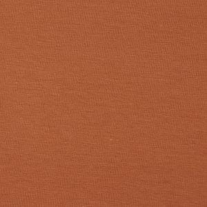 Bio Jersey Stoff uni karamell braun Stoffonkel