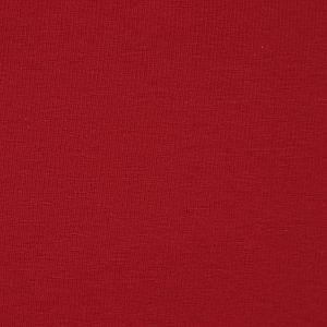 Bio Jersey Stoff uni kirsche rot Stoffonkel