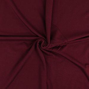 MicroModal® Jersey in dunkel bordeaux von Fabrilogy