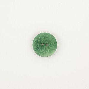 Bio Knöpfe Echt Steinnuss 20mm dunkelgrün matt im Set