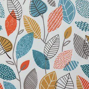 Bio Jersey Motiv Autumn Leaves von Stoffonkel