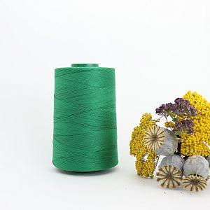 Nähgarn Blattgrün 100% Bio Baumwolle Scanfil 5000m Kone