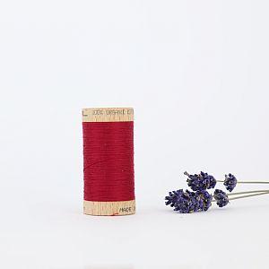 Nähgarn Bordeaux 100% Bio Baumwolle Scanfil