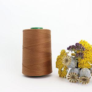Nähgarn Eichelbraun 100% Bio Baumwolle Scanfil 5000m Kone