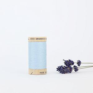 Nähgarn Eisblau 100% Bio Baumwolle Scanfil
