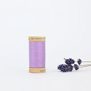 Nähgarn Flieder 100% Bio Baumwolle Scanfil