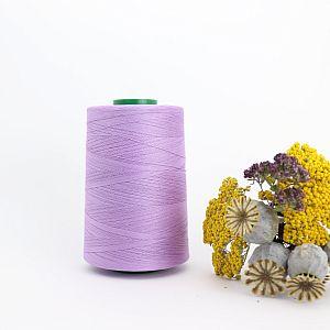 Nähgarn Flieder 100% Bio Baumwolle Scanfil 5000m Kone