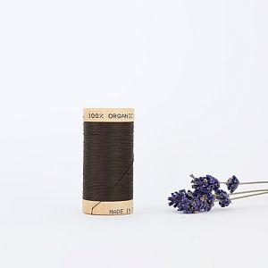 Nähgarn Kastanienbraun 100% Bio Baumwolle Scanfil