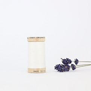 Nähgarn Natur 100% Bio Baumwolle Scanfil