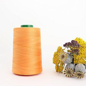 Nähgarn Orange 100% Bio Baumwolle Scanfil 5000m Kone