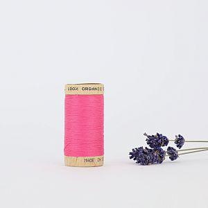 Nähgarn Rosa 100% Bio Baumwolle Scanfil
