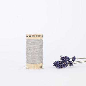 Nähgarn Sand Grau 100% Bio Baumwolle Scanfil