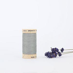 Nähgarn Stahl Grau 100% Bio Baumwolle Scanfil