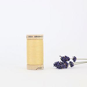 Nähgarn Strohgelb 100% Bio Baumwolle Scanfil