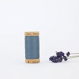 Nähgarn Sturmblau 100% Bio Baumwolle Scanfil