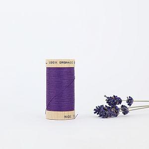 Nähgarn Violett 100% Bio Baumwolle Scanfil