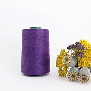 Nähgarn Violett 100% Bio Baumwolle Scanfil 5000m Kone
