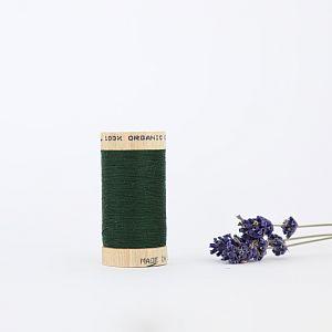 Nähgarn Waldgrün 100% Bio Baumwolle Scanfil