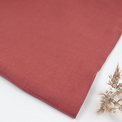 Nisa Softened Linen in Coral Red von Mind the MAKER