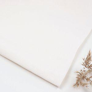Nisa Softened Linen in Creamy White von Mind the MAKER