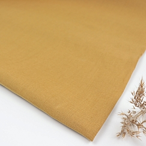 Nisa Softened Linen in Dry Mustard von Mind the MAKER