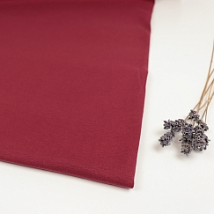 Organic Single Stretch Jersey in Red von mind the MAKER