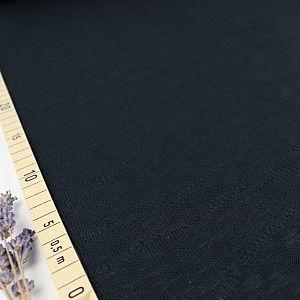 Organic Slub Jacquard Knit in Caviar von mind the MAKER