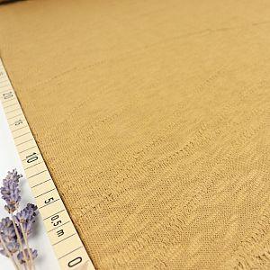Organic Slub Jacquard Knit in Dry Mustard von mind the MAKER