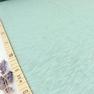 Organic Slub Jacquard Knit in Sage Green von mind the MAKER