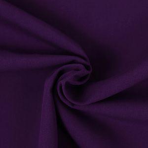 Uni Bio Popeline violett von Amandine Cha