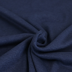 FINE RIB JERSEY in Blueberry von Meet Milk